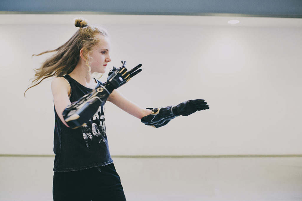 Tilly Lockey - bionic dancer