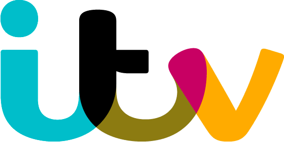 ITV logo on white