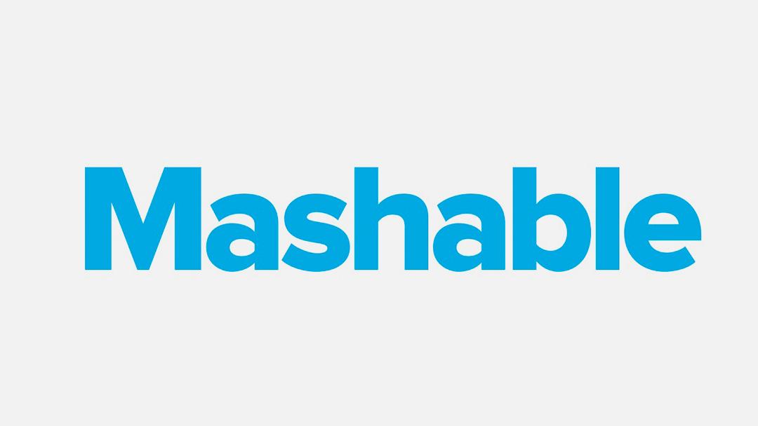 Mashable logo on white