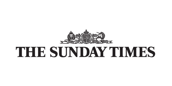 Logo for The Sunday Times on white