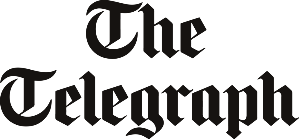 The Telegraph logo isolated