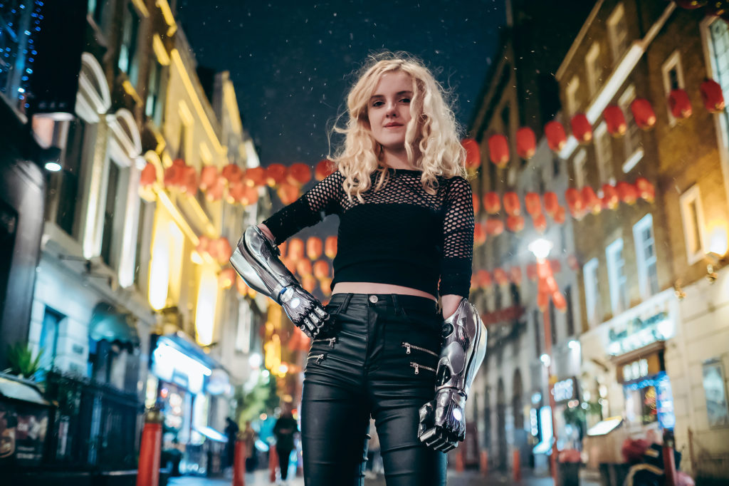 Alita: Battle Angel Bionic Arms - Tilly Lockey